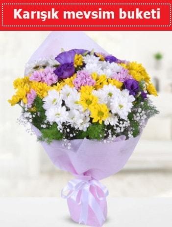 Karışık Kır Çiçeği Buketi  Giresun internetten çiçek siparişi