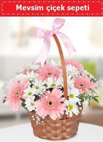 Mevsim kır çiçek sepeti  Giresun çiçek servisi , çiçekçi adresleri